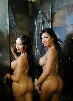 Ladyboy in Shower Pictures